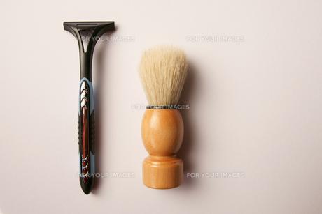 髭剃り ヒゲソリブラシの写真素材 [FYI00439938]