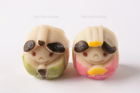 菓子 和菓子 お雛様の写真素材 [FYI00439975]