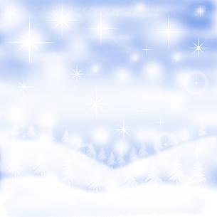 冬景色のイラストの素材 [FYI00440123]