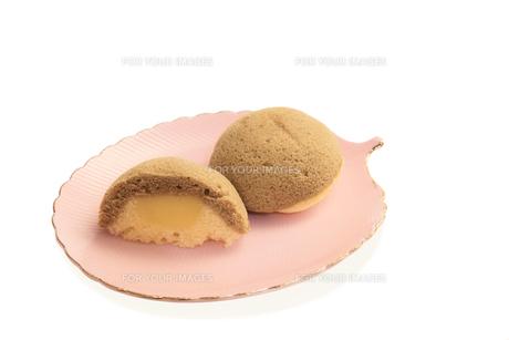 ぷりんタルトケーキの写真素材 [FYI00440133]