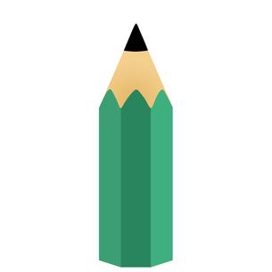 直立した鉛筆のイラストの写真素材 [FYI00440268]