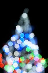 クリスマスツリーのイルミネーションの写真素材 [FYI00440271]