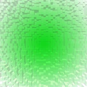 緑色の立体的なモザイクの背景イラストの素材 [FYI00440331]