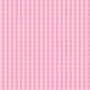ピンク色のチェック柄の背景イラストの写真素材 [FYI00440337]