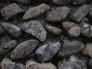 石垣の石の写真素材 [FYI00440398]