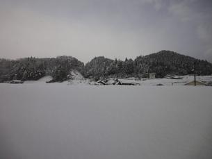 雪景色の写真素材 [FYI00440404]