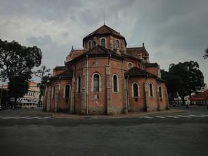 サイゴン聖母大聖堂の写真素材 [FYI00440536]
