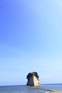 見附島の写真素材 [FYI00440733]