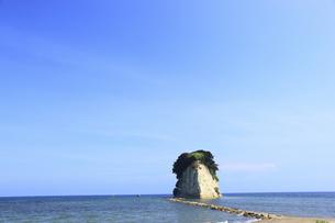 見附島の写真素材 [FYI00440747]