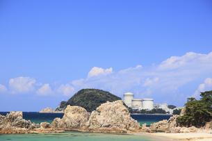 関西電力美浜原子力発電所の写真素材 [FYI00440830]
