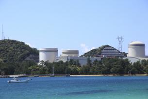 関西電力美浜原子力発電所の写真素材 [FYI00440843]