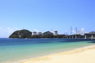 関西電力美浜原子力発電所の写真素材 [FYI00440847]