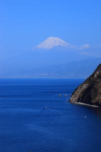 駿河湾と富士山の写真素材 [FYI00440911]