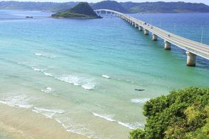角島大橋の写真素材 [FYI00440927]