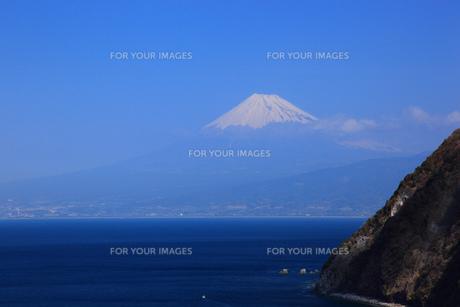 駿河湾と富士山の素材 [FYI00440934]