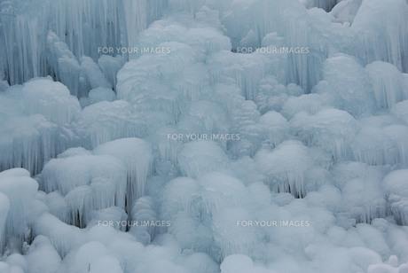 氷の造形の素材 [FYI00440962]