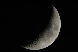 月(月齢4.6)の写真素材 [FYI00441087]