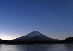 冬の霊峰の写真素材 [FYI00441134]