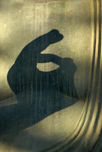 御仏の影の写真素材 [FYI00441154]