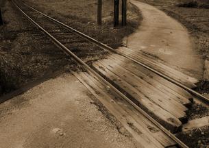 それぞれの路の写真素材 [FYI00441162]
