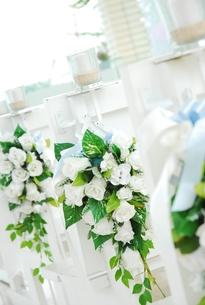 チャペルの装飾の花の写真素材 [FYI00441199]