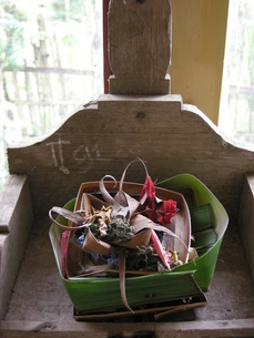 バリ島のお供え物の写真素材 [FYI00441201]