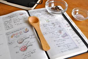 レシピ帳の写真素材 [FYI00441365]
