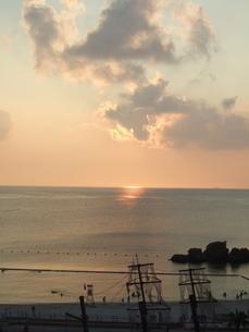 安良波と遊泳の写真素材 [FYI00442059]