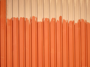 トタンの壁の写真素材 [FYI00442067]