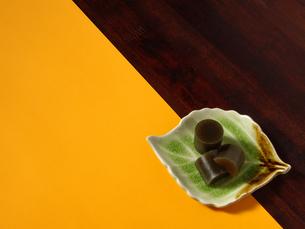 お茶羊羹の写真素材 [FYI00442088]