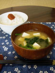 日本の朝食の写真素材 [FYI00442092]