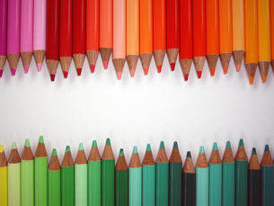 色鉛筆の写真素材 [FYI00442106]