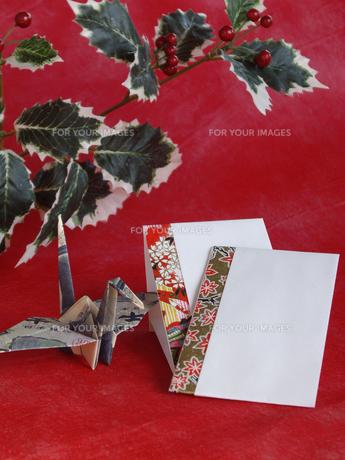 千円札とポチ袋の写真素材 [FYI00442111]