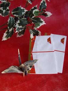 千円札とのし袋の写真素材 [FYI00442124]