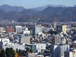 山形市街の俯瞰の写真素材 [FYI00442240]