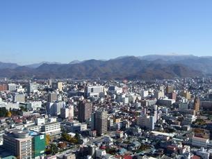山形市街の俯瞰の写真素材 [FYI00442243]