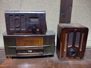 昔のラジオの写真素材 [FYI00442249]