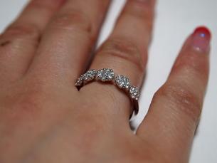 綺麗な指輪の写真素材 [FYI00442258]