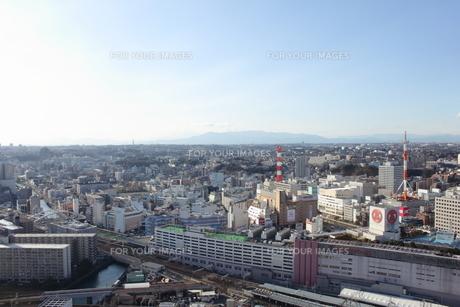 横浜市街の俯瞰の素材 [FYI00442306]