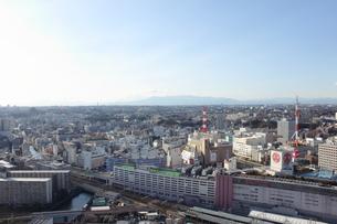 横浜市街の俯瞰の写真素材 [FYI00442306]