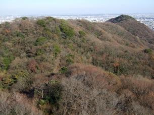 湘南平から高麗山を望むの写真素材 [FYI00442318]