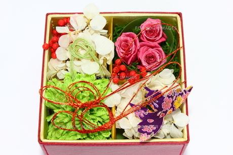 花のおせちの写真素材 [FYI00442373]