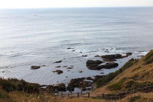 城ヶ島公園の海岸の写真素材 [FYI00442409]