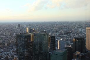新宿の俯瞰風景の写真素材 [FYI00442476]