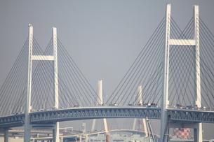 横浜ベイブリッジの写真素材 [FYI00442539]