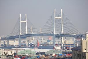 横浜ベイブリッジの写真素材 [FYI00442548]