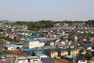 ルララこうほくから望む港北ニュータウンの街並みの写真素材 [FYI00442649]