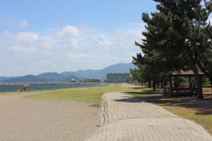 青森・合浦海水浴場の写真素材 [FYI00442719]