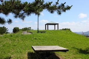 青森・堤川緑地公園の高台の写真素材 [FYI00442723]