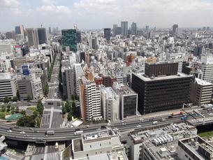 大手町から神田方面の展望風景の写真素材 [FYI00442753]